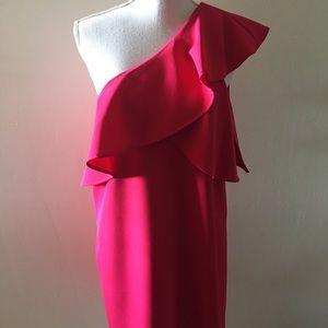 🆕 NORDSTROM: CHARLES HENRY one-shoulder dress